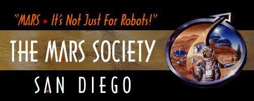 The Mars Society - San Diego Chapter.